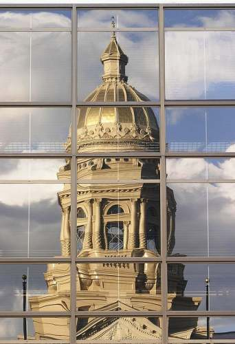 Wyoming Capitol Building, photo by Wyoming CVB