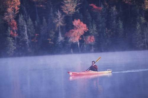 Green River Reservoir, Vermont Kayak, photo by Vermont CVB