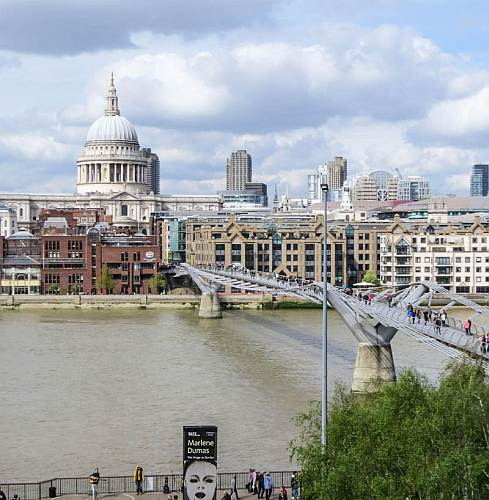 View from Tate Museum photo by Mike Keenan.
